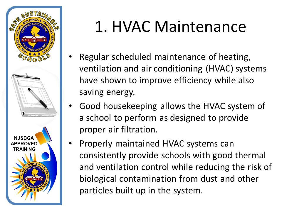1. HVAC Maintenance