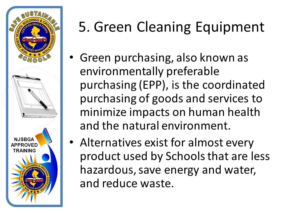 5. Green Cleaning Equipment