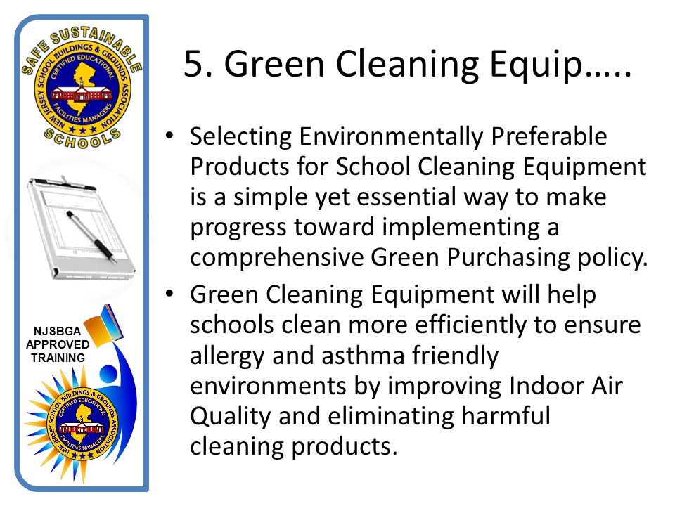 5. Green Cleaning Equip…..
