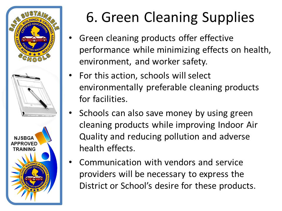 6. Green Cleaning Supplies