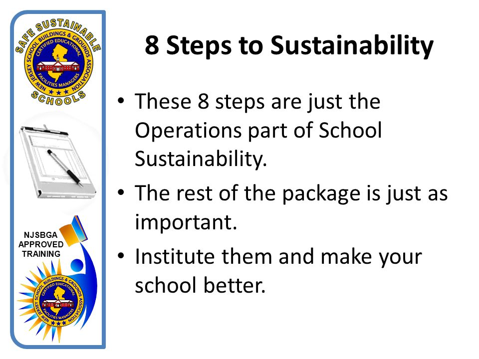8 Steps to Sustainability