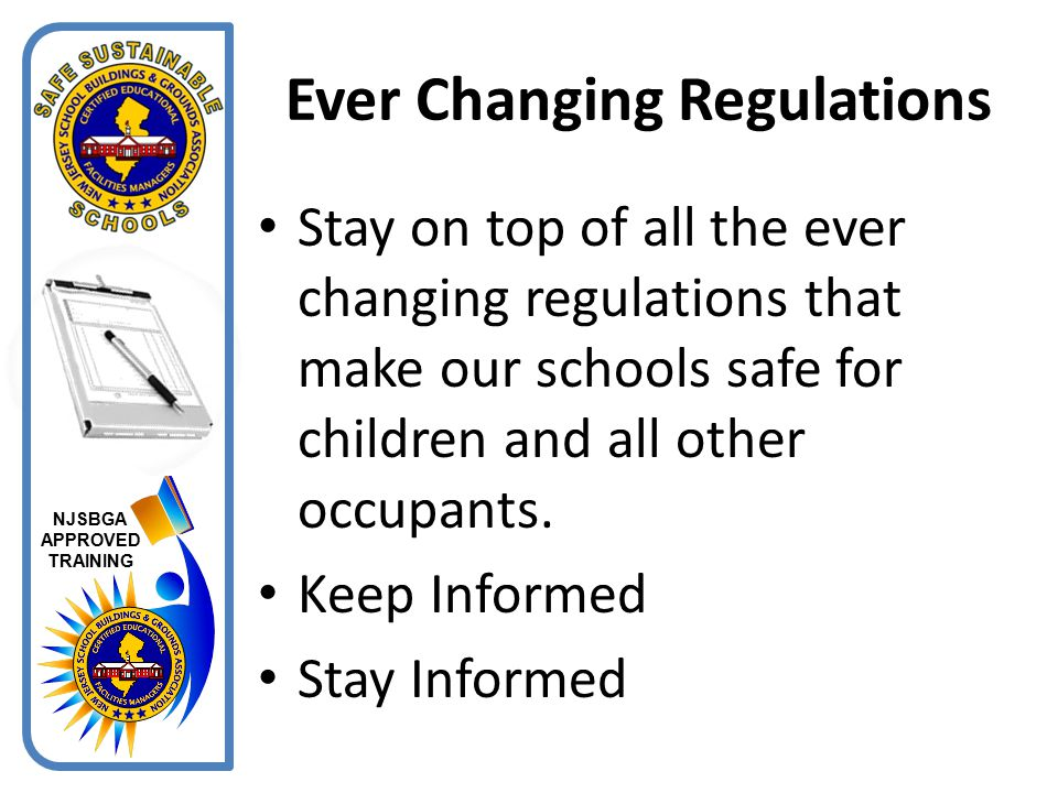 Ever Changing Regulations
