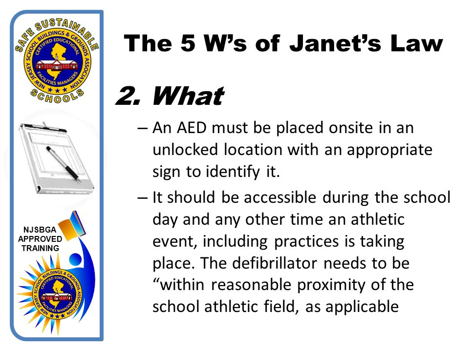 What The 5 W's of Janet's Law