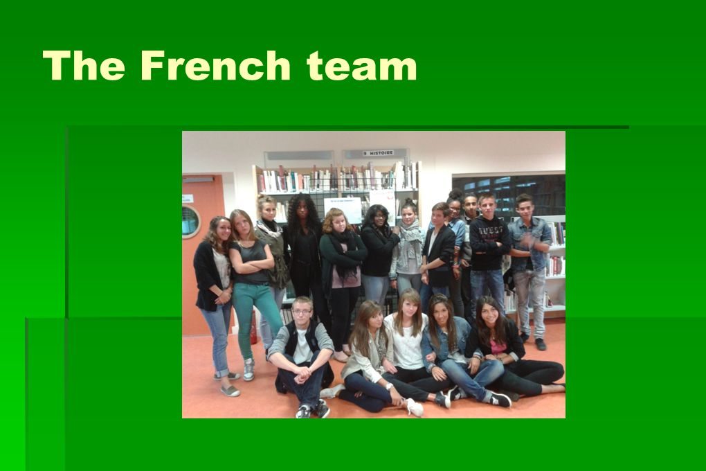 The French team