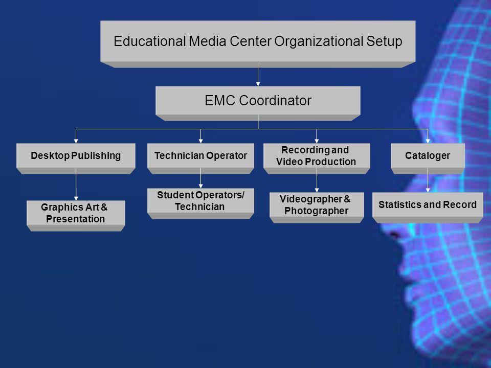 Educational Media Center Organizational Setup
