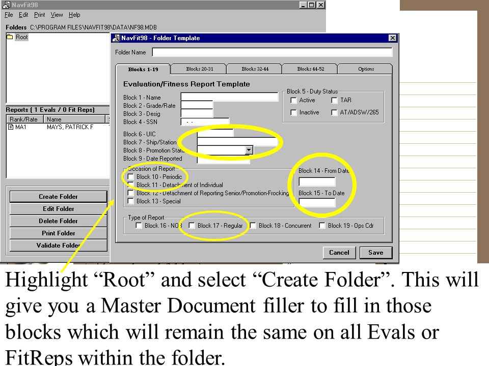 Highlight Root and select Create Folder . This will