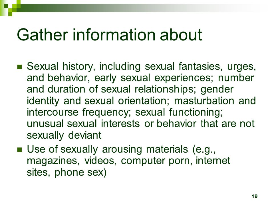 Gather information about