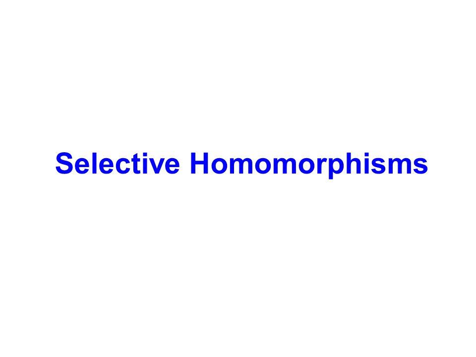 Selective Homomorphisms