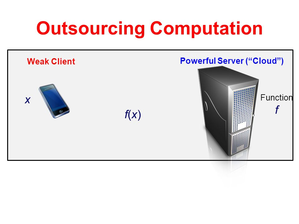 Outsourcing Computation