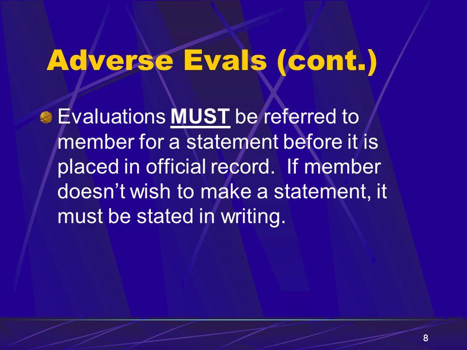 Adverse Evals (cont.)
