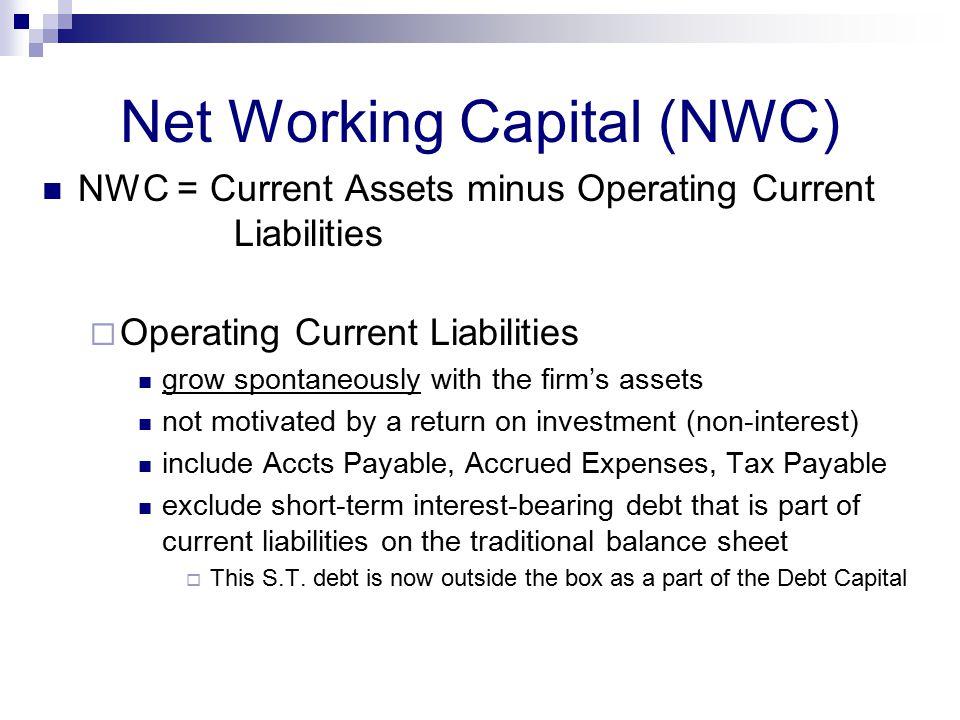 Net Working Capital (NWC)