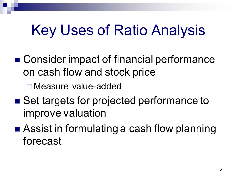 cash flow ratio analysis pdf