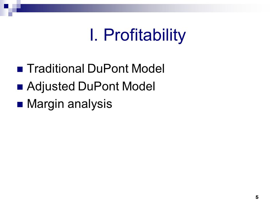 dupont model analysis Dupont analysis is an expression which breaks roe (return on equity) into three  parts the name comes from the dupont.