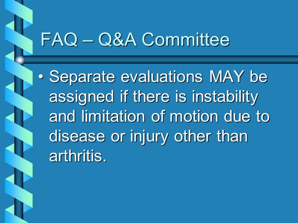 FAQ – Q&A Committee
