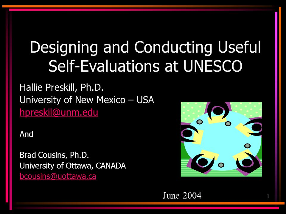 Designing and Conducting Useful Self-Evaluations at UNESCO