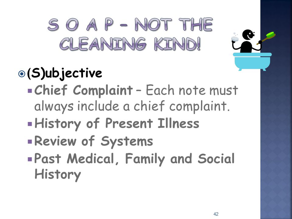 S O A P – Not the cleaning kind!