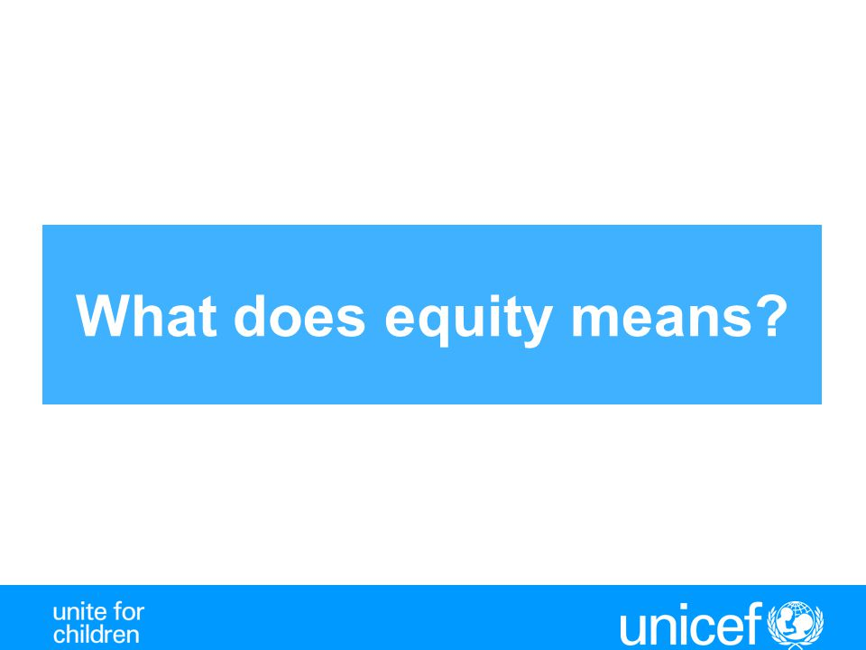 What does equity means