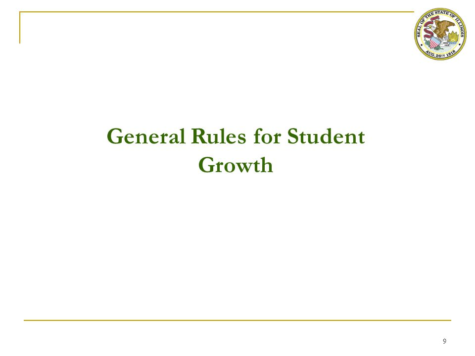 Definition of Student Growth for Principal Evaluation