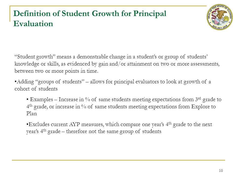 Defining Significant Factor for Principal Evaluation