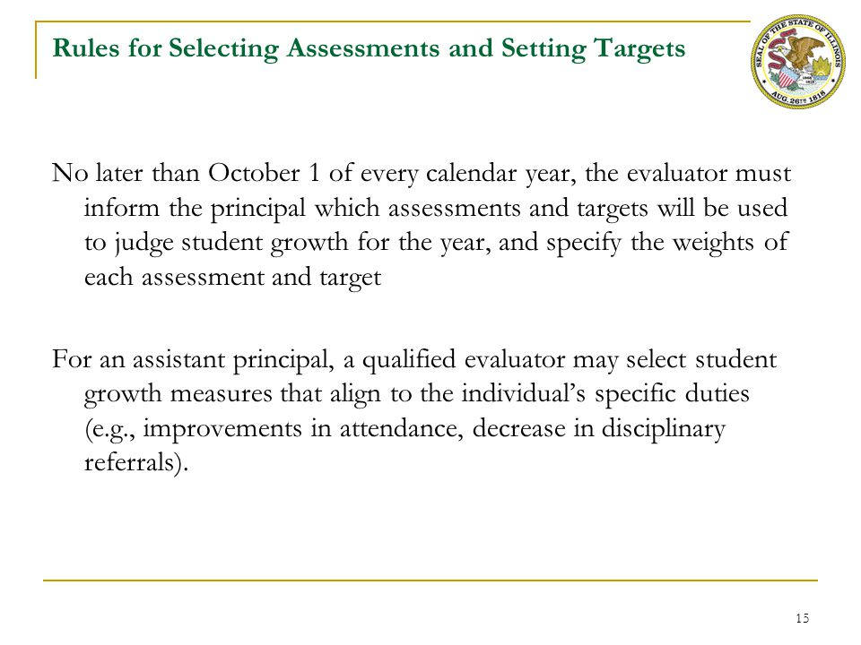 Rules for Including Students in Growth Calculation