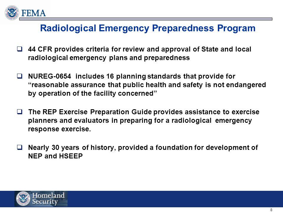 Radiological Emergency Preparedness Program