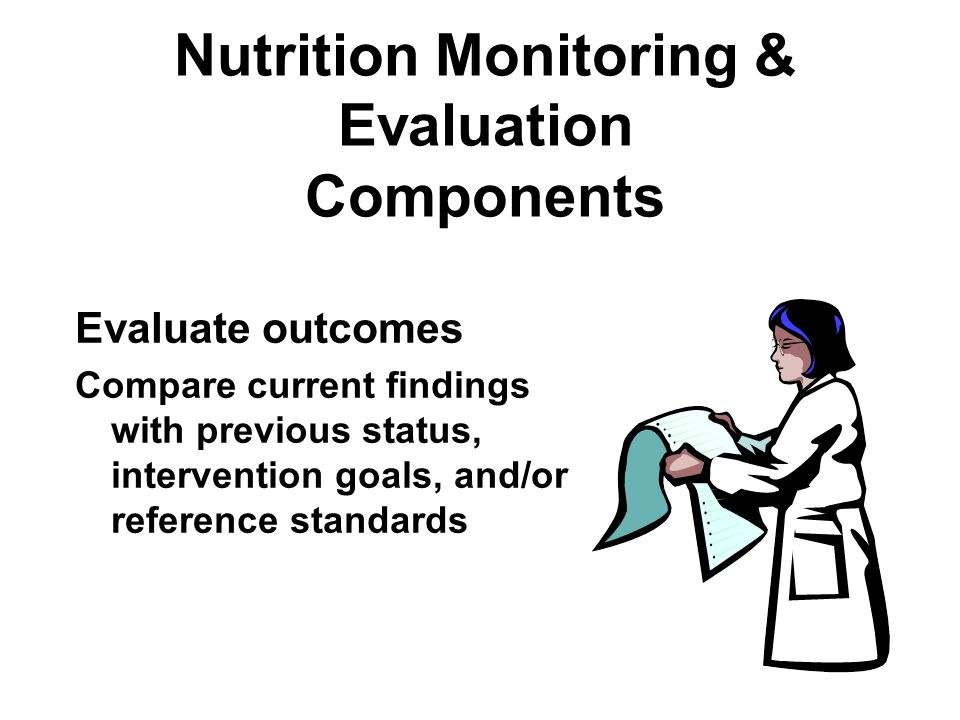 Nutrition Monitoring & Evaluation Components