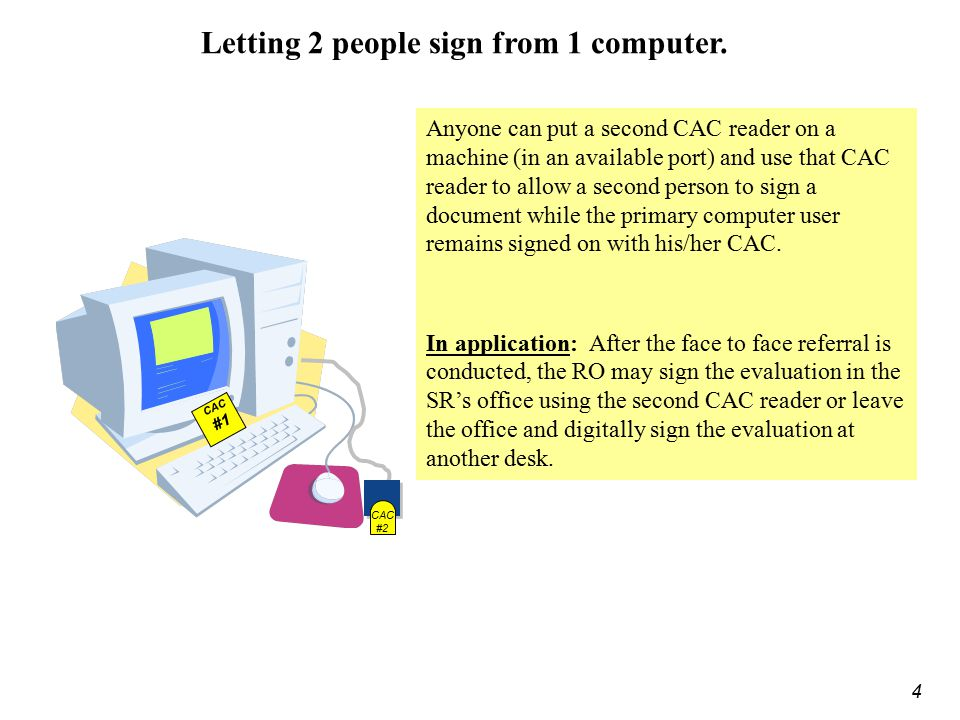 Letting 2 people sign from 1 computer.