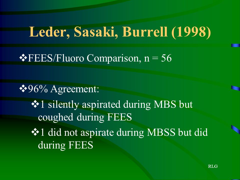 Leder, Sasaki, Burrell (1998)