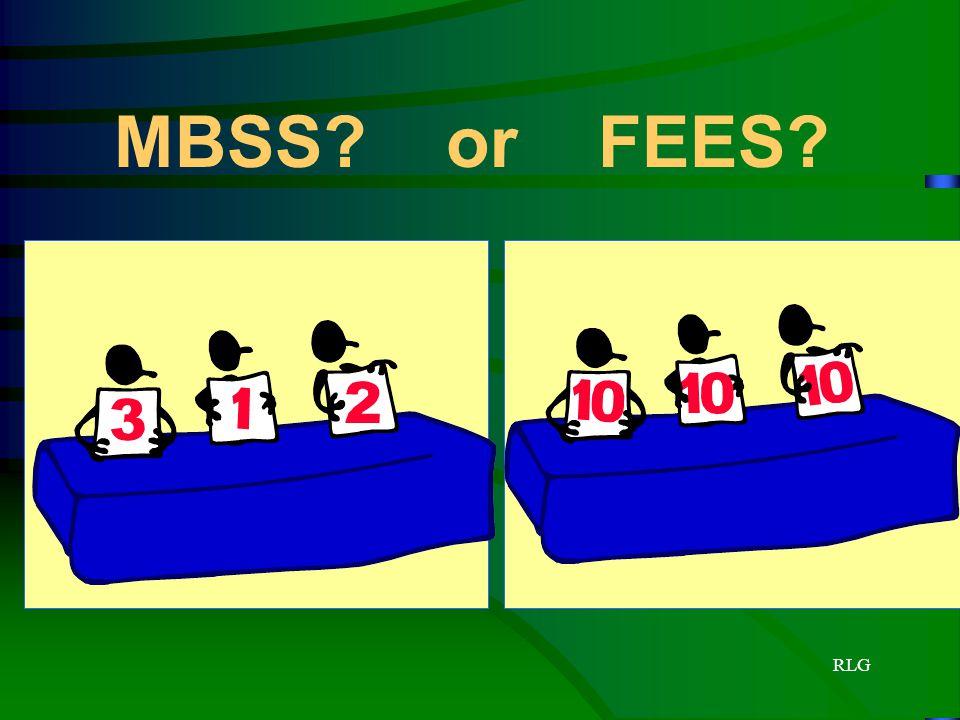 MBSS or FEES RLG