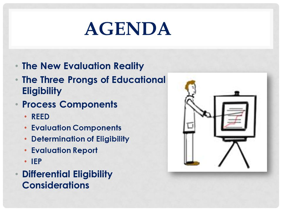 AGENDA The New Evaluation Reality