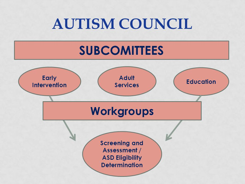Screening and Assessment / ASD Eligibility Determination