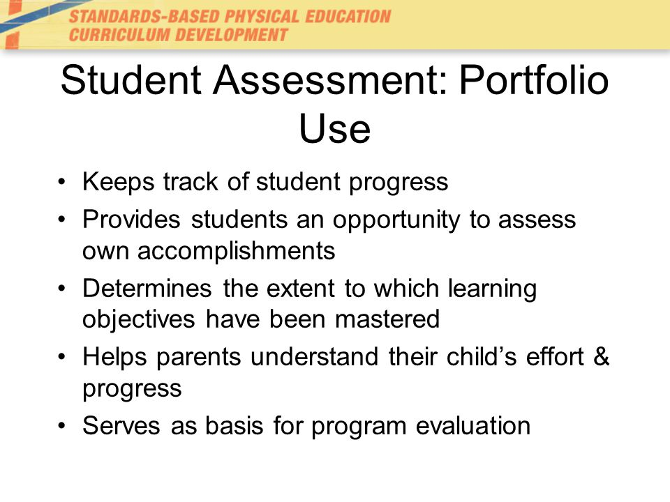Student Assessment: Portfolio Use