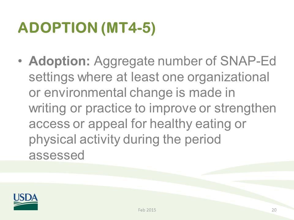 ADOPTION (MT4-5)
