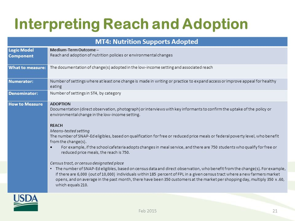 Interpreting Reach and Adoption