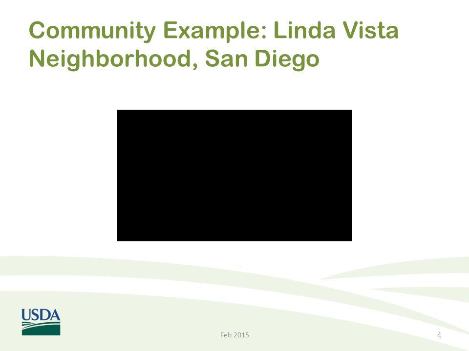 Community Example: Linda Vista Neighborhood, San Diego