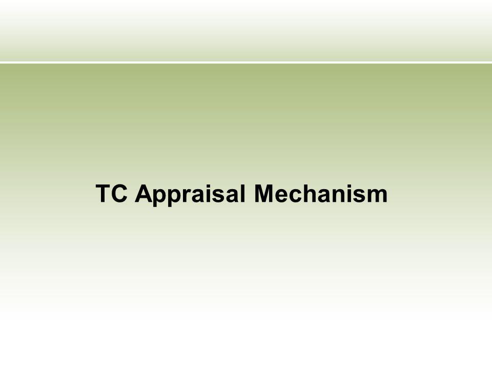 TC Appraisal Mechanism