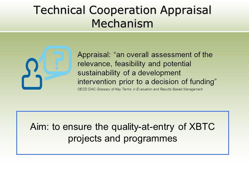 Technical Cooperation Appraisal Mechanism