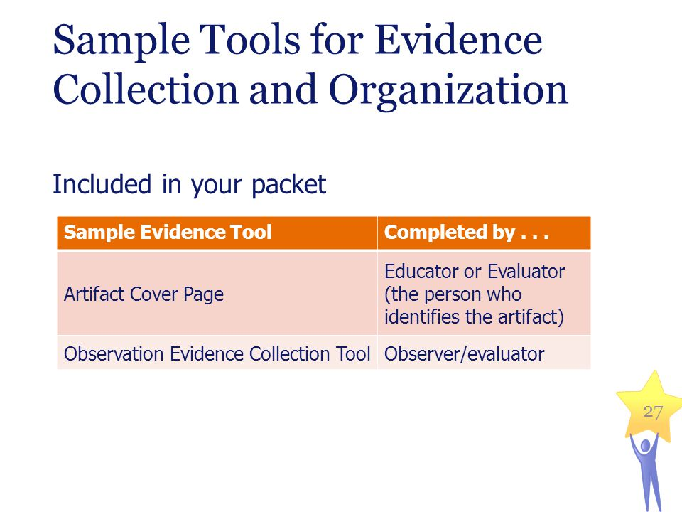 Sample Tools for Evidence Collection and Organization