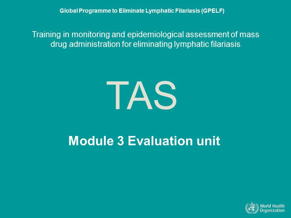 Module 3 Evaluation unit