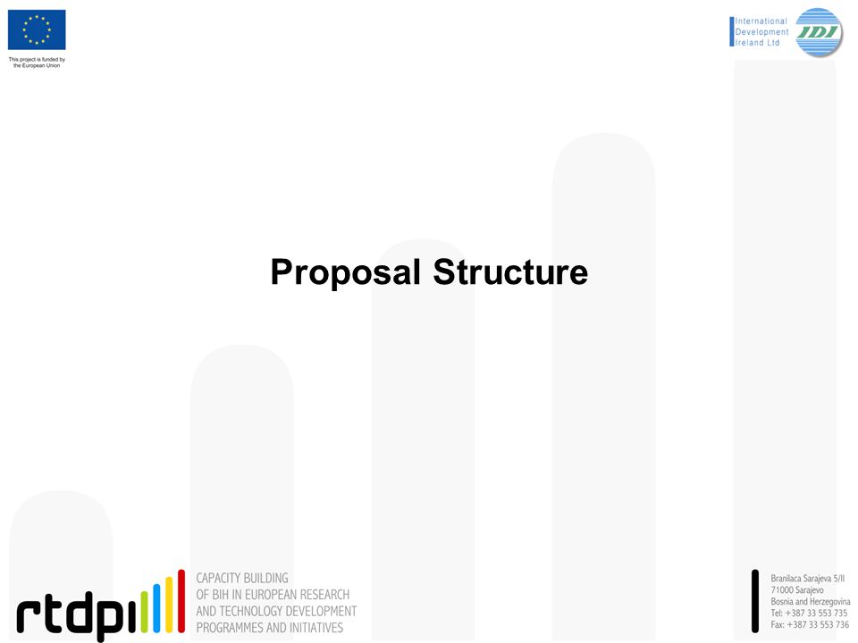 Proposal Structure 6