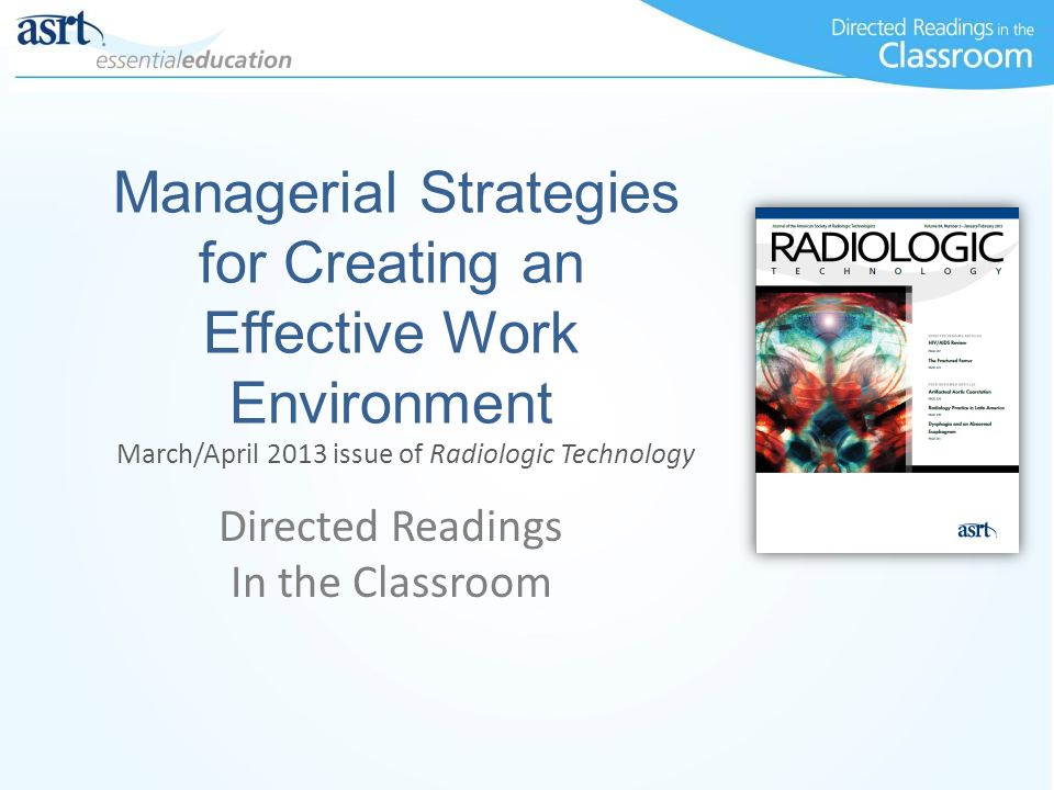 Managerial Strategies for Creating an Effective Work Environment