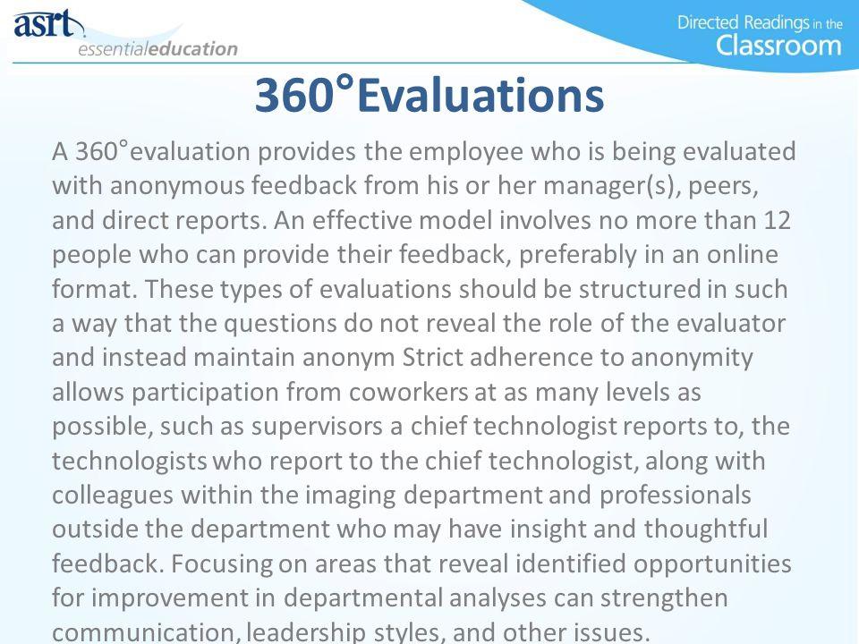 360°Evaluations