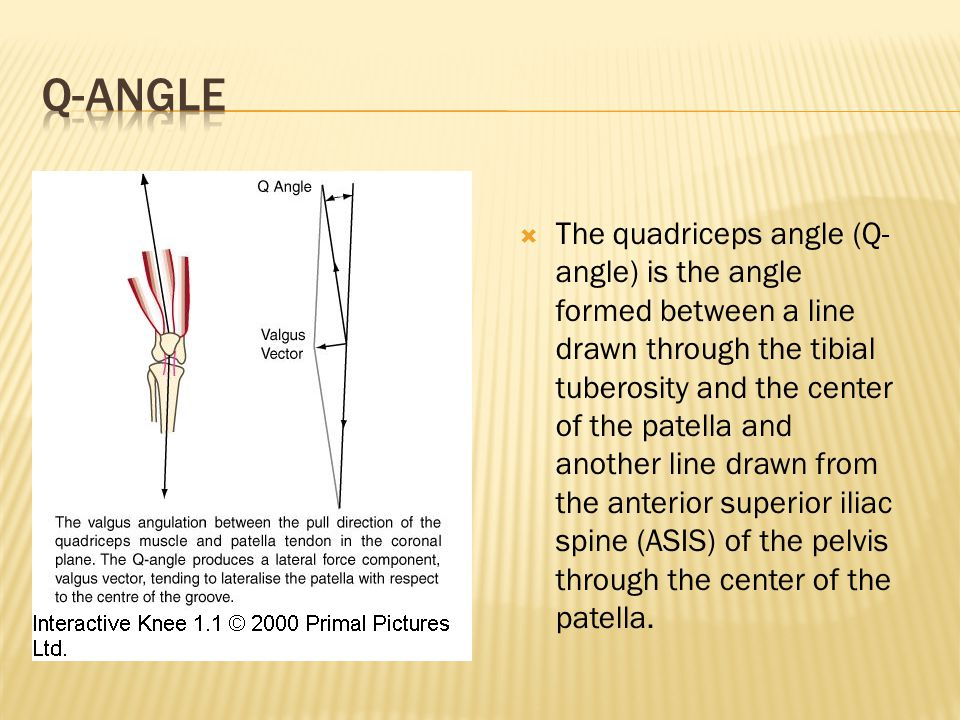 Q Angle Of The Knee  Everything You Need To Know  Dr Nabil Ebraheim