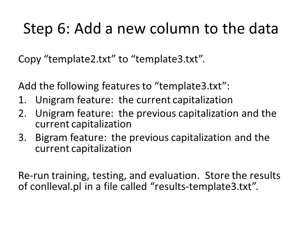 Step 6: Add a new column to the data