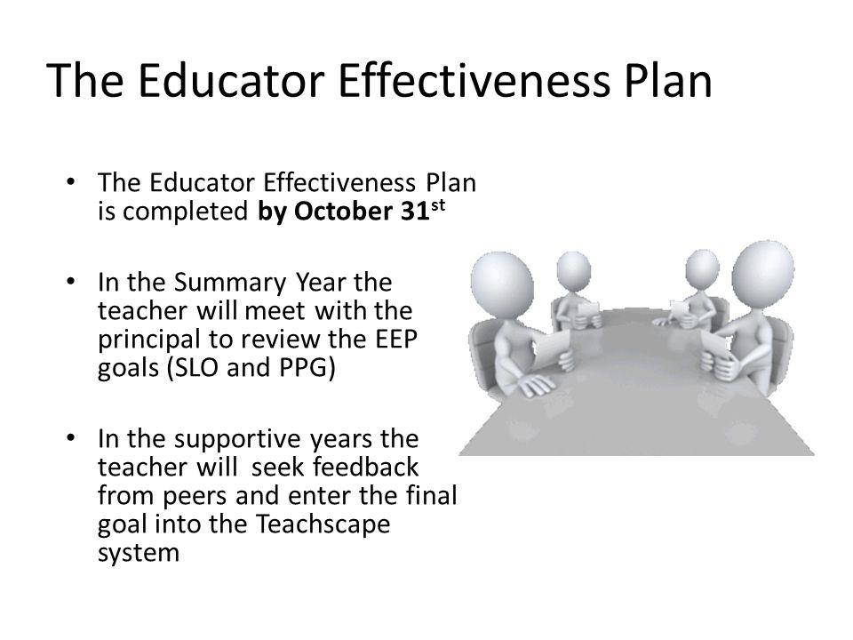 The Educator Effectiveness Plan