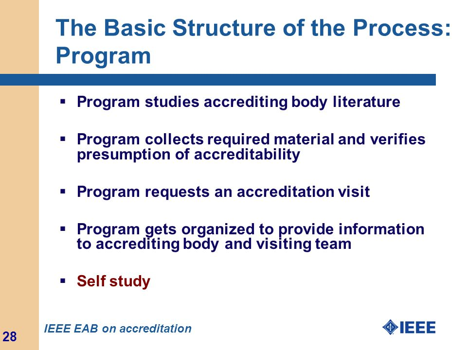 The Basic Structure of the Process: Program