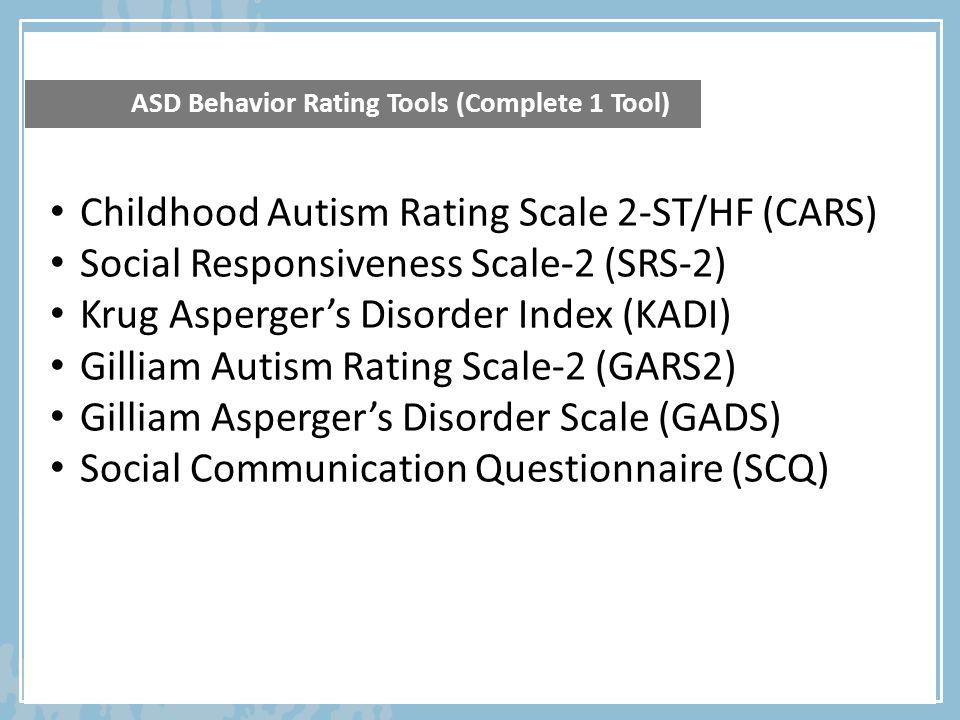 social responsiveness scale questionnaire pdf