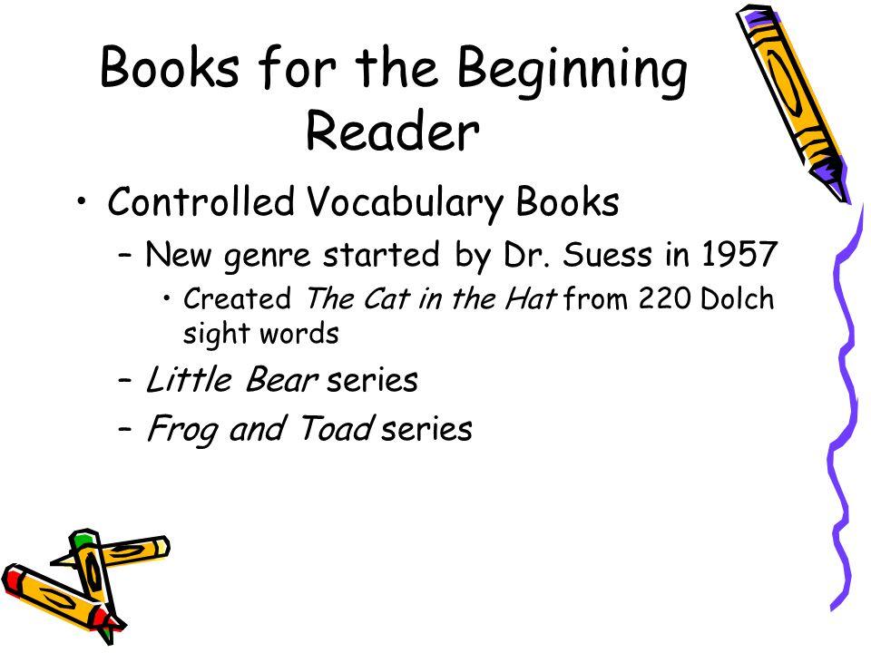 Books for the Beginning Reader