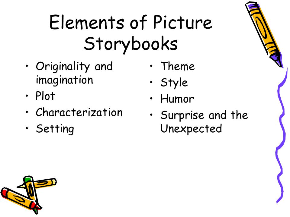 Elements of Picture Storybooks