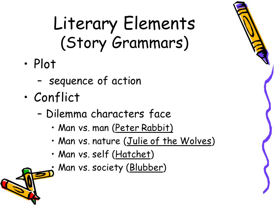 Literary Elements (Story Grammars)
